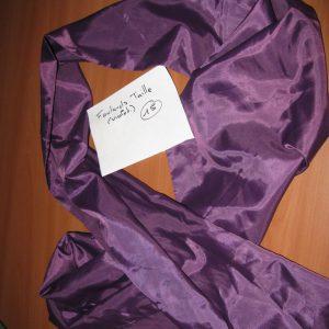 foulard taille violet